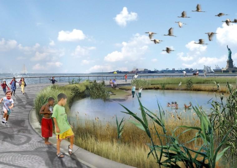 2012年ASLA奖分析与规划奖 总督岛公园及公共空间设计第36张图片