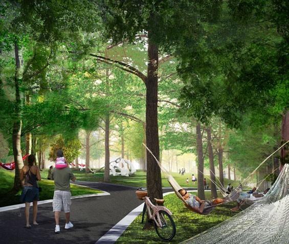 2012年ASLA奖分析与规划奖 总督岛公园及公共空间设计第37张图片