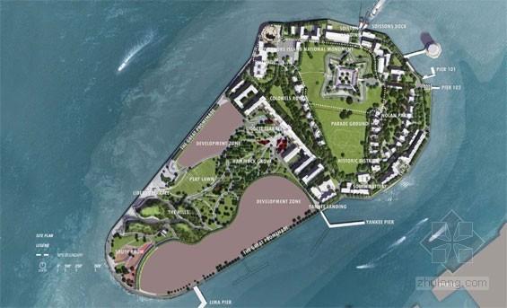 2012年ASLA奖分析与规划奖 总督岛公园及公共空间设计第58张图片