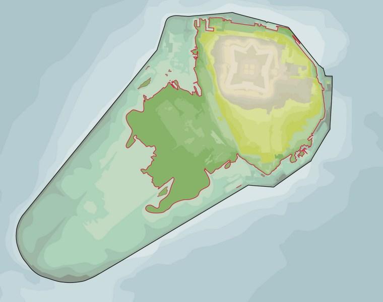 2012年ASLA奖分析与规划奖 总督岛公园及公共空间设计第59张图片