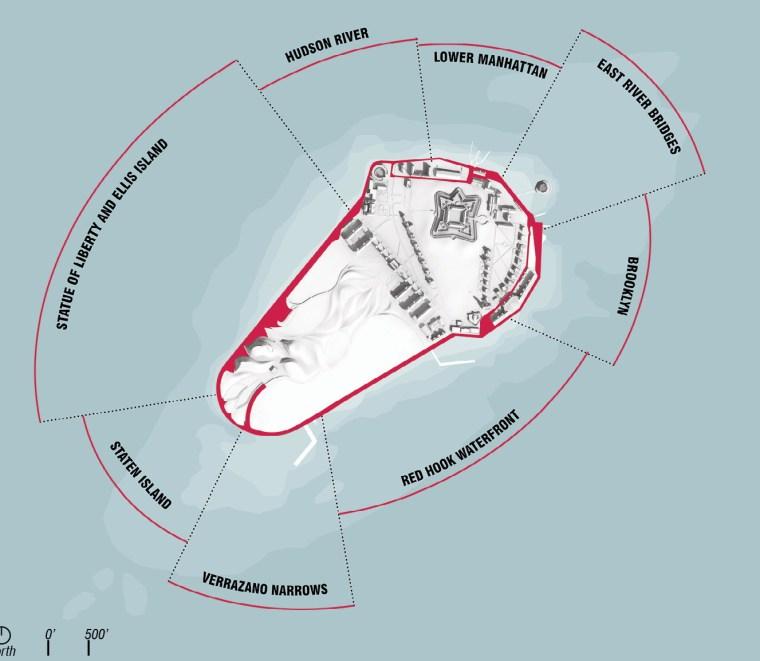 2012年ASLA奖分析与规划奖 总督岛公园及公共空间设计第63张图片