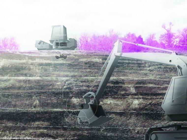 2012年ASLA学生奖分析规划奖——优秀奖 炸弹挖掘兼开采矿产