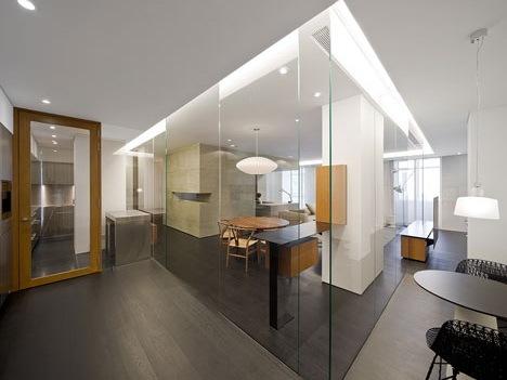 简洁透明的私人住宅