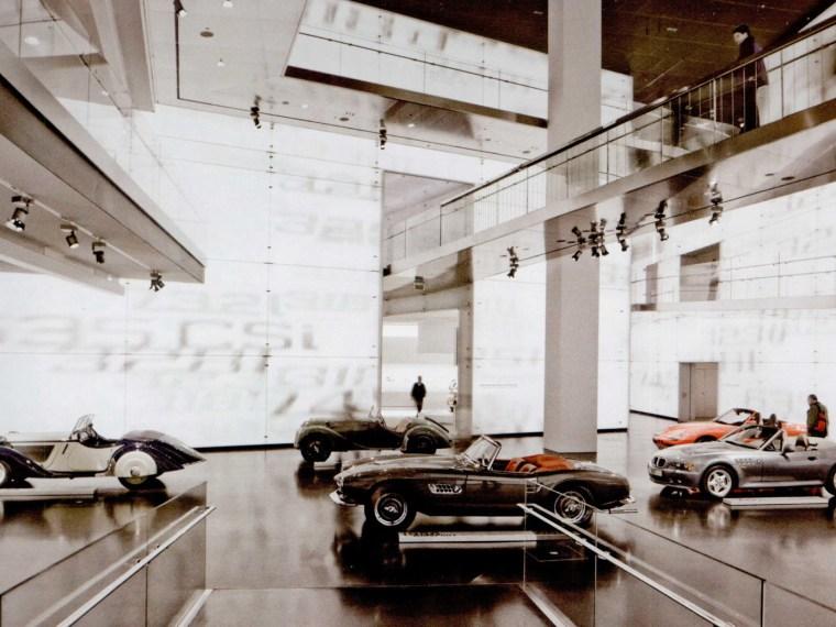 Isuzu汽车博物馆资料下载-德国慕尼黑宝马汽车博物馆