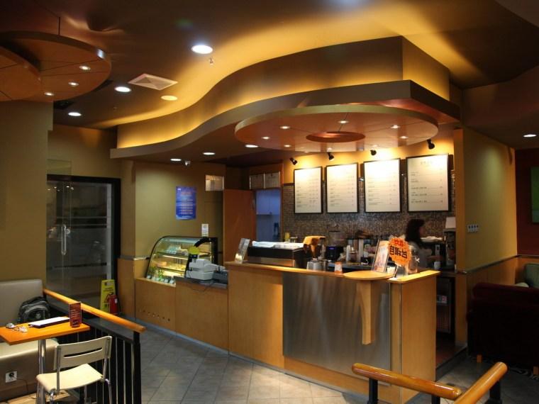 咖啡店室内装修