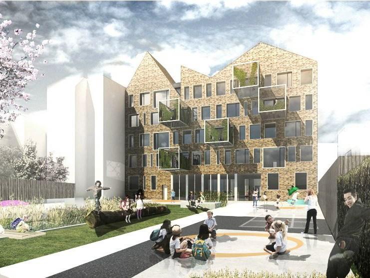 建筑外绿化