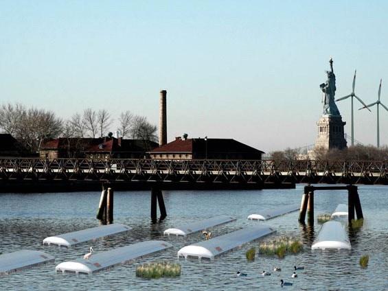 风暴防护堤的替代结构