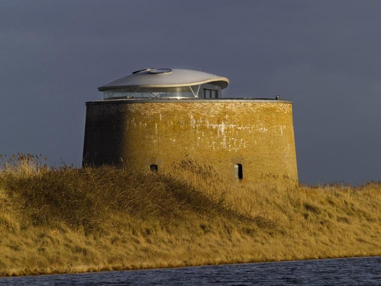 Y圆形碉堡住宅