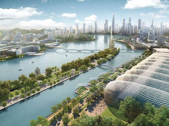 梅溪湖总体规划