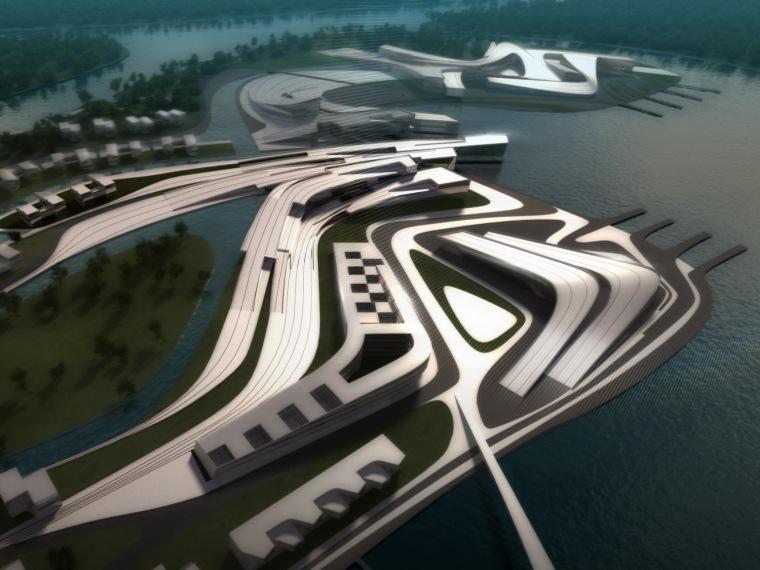 唐山湾国际旅游岛 月坨岛一期概念规划方案