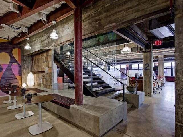 底特律极具创意的办公空间室内设计