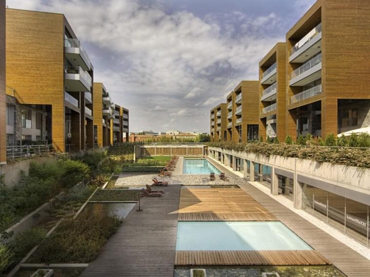 居住区雨水循环利用与景观设计案例