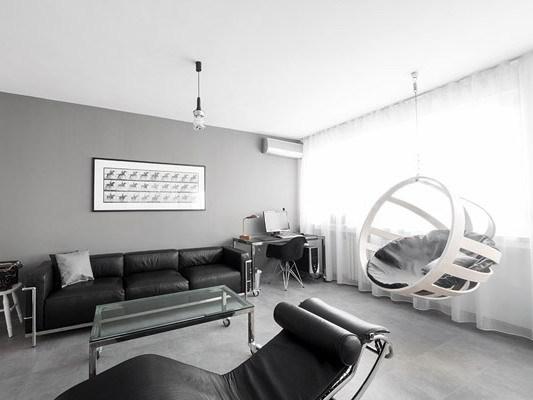 极简公寓室内装修设计