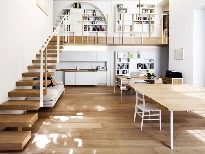意大利开放式现代住宅设计