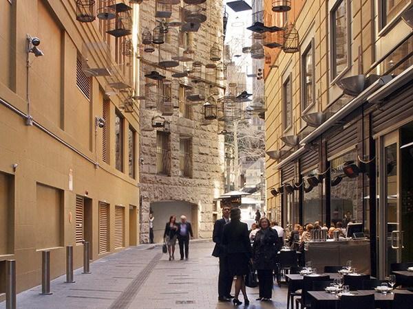 悉尼城市街道空间景观改造
