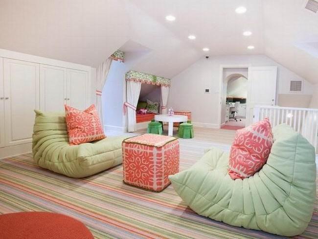 休斯顿色彩清新公寓装修设计