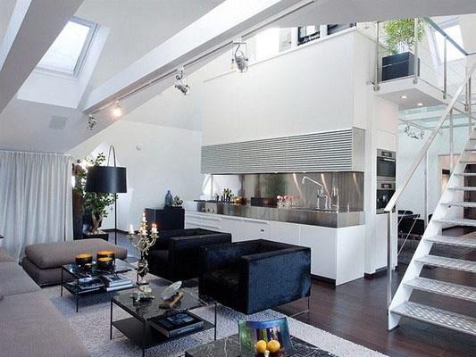 180平斯德哥尔摩复式公寓