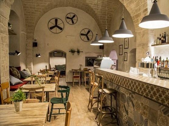 复古情调的意大利餐厅设计