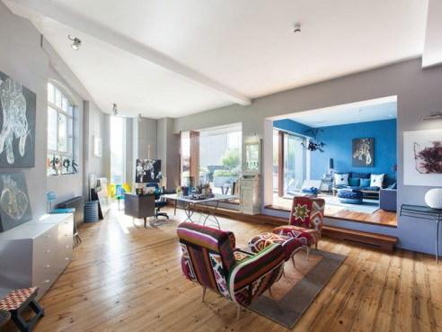 伦敦艺术公寓室内装饰设计