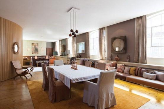 3-伦敦艺术公寓室内装饰设计第4张图片