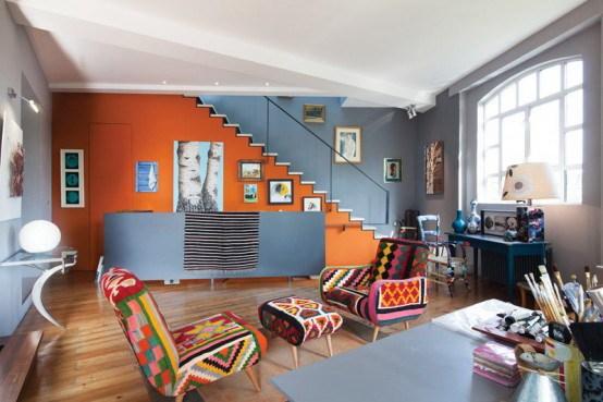 4-伦敦艺术公寓室内装饰设计第5张图片