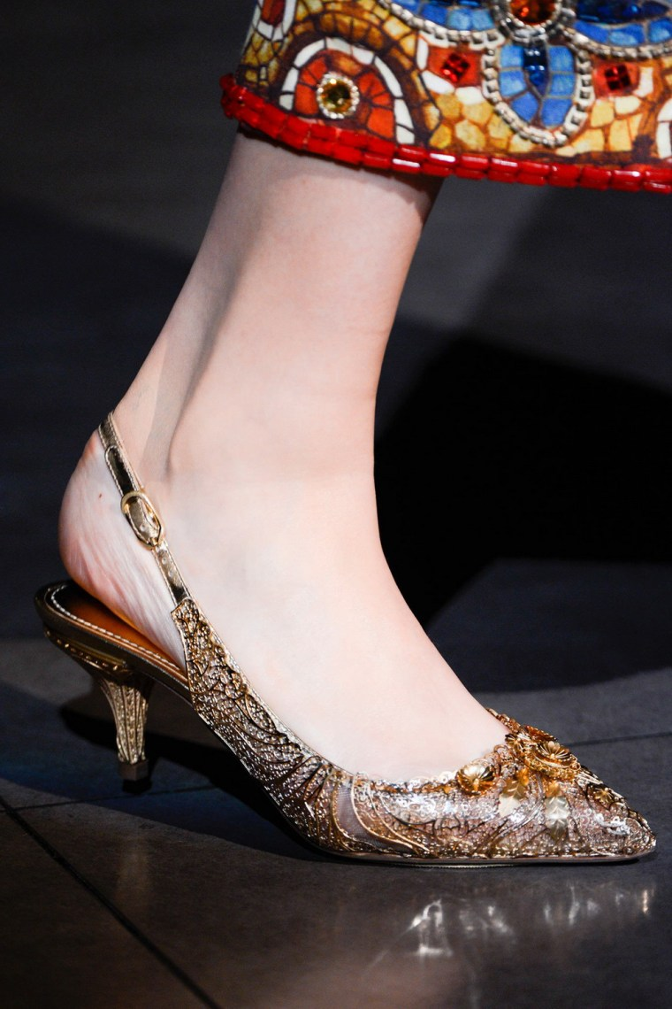 Dolce&Gabbana秋冬2013美鞋第3张图片