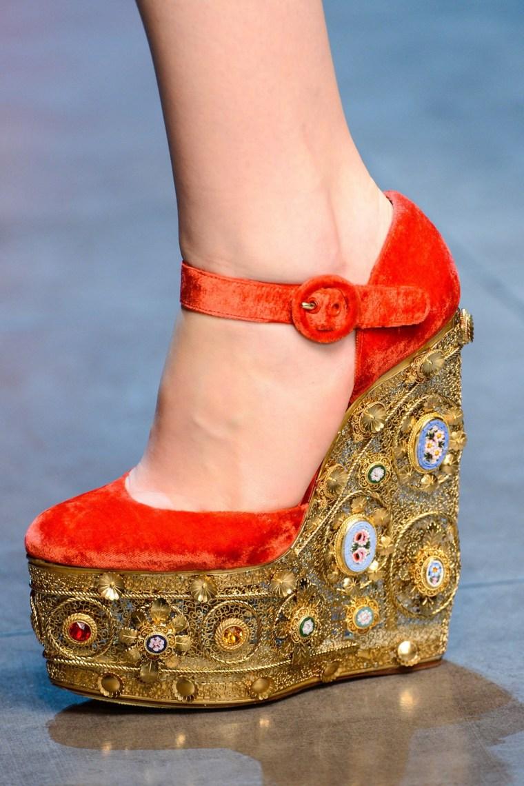 Dolce&Gabbana秋冬2013美鞋第9张图片
