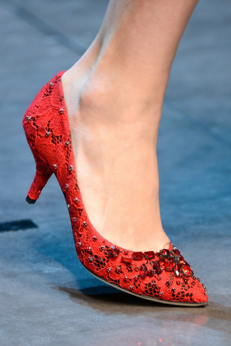 Dolce&Gabbana秋冬2013美鞋第13张图片
