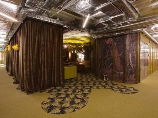 莫斯科谷歌新办公室装修设计