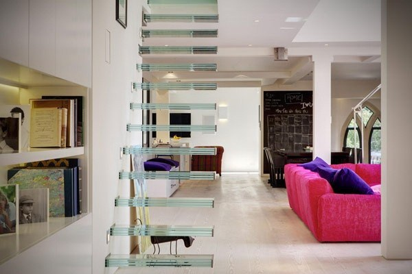 3-400平loft风色彩混搭公寓装修第4张图片