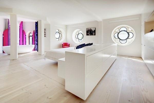 4-400平loft风色彩混搭公寓装修第5张图片