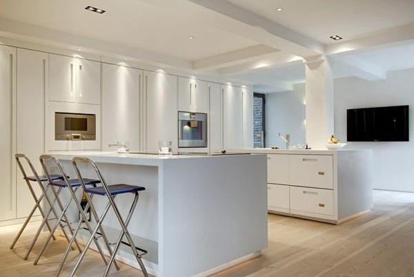 7-400平loft风色彩混搭公寓装修第8张图片