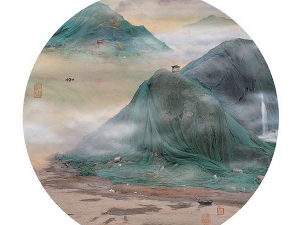 """远看是山水、近看是垃圾,姚璐的中国""""新景观"""""""
