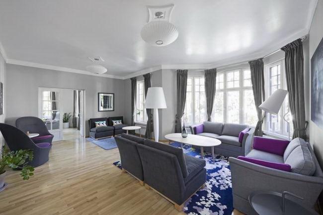 挪威经典北欧风格住宅室内装修