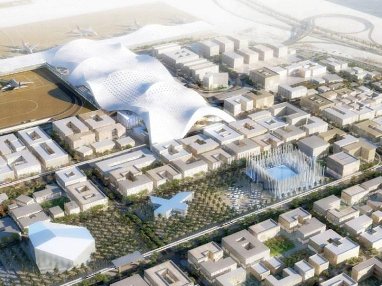 """卡塔尔""""机场城""""第1张图片"""