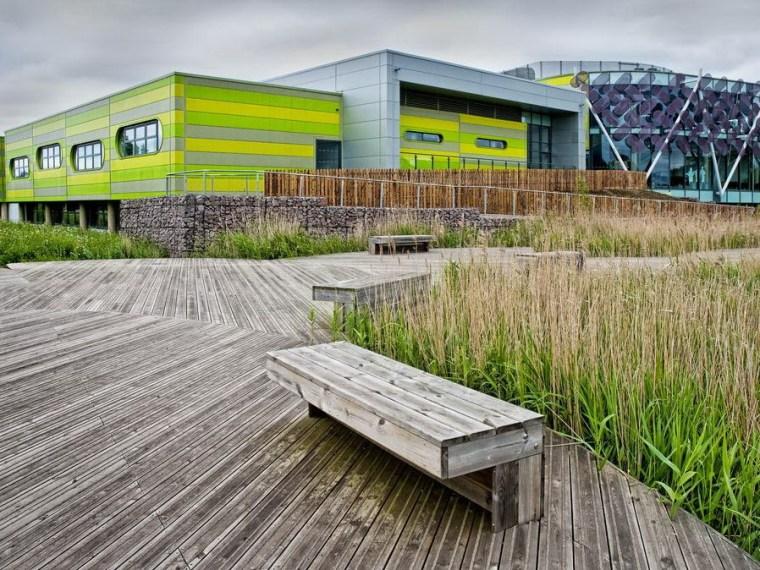 英国诺丁汉科技园区建筑景观设计