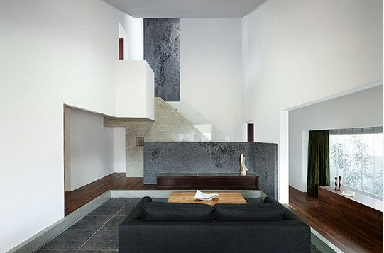 1-日本京都现代化精品别墅装修设计第2张图片