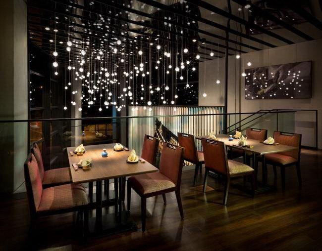 吉隆坡现代怀旧风格餐厅装修设计
