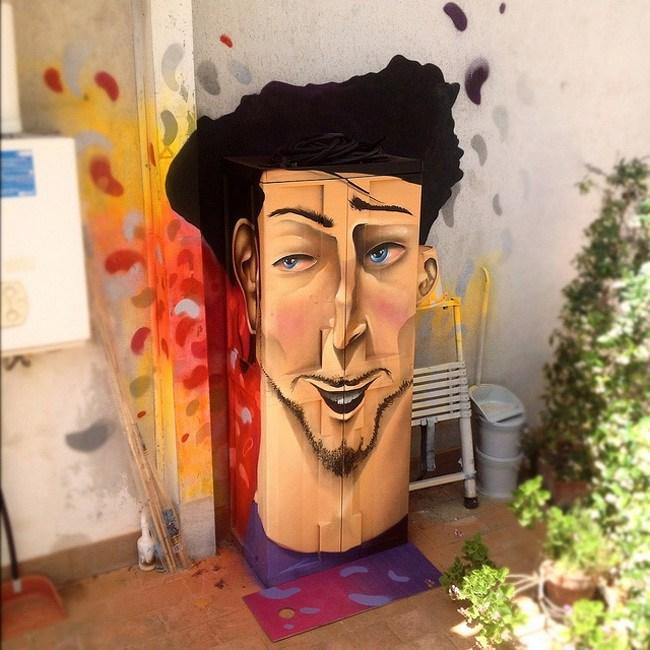 DMS的街头艺术作品第3张图片