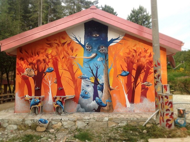 DMS的街头艺术作品第6张图片