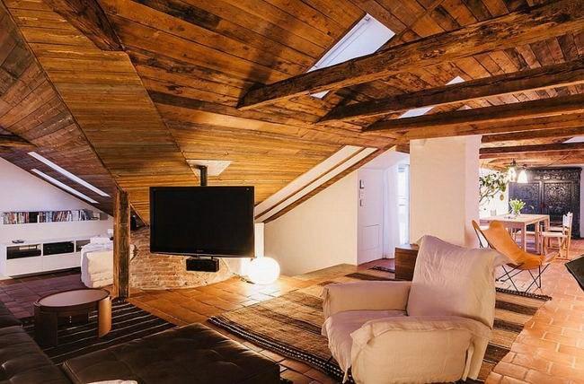 1-令人惊叹的复式公寓室内设计第2张图片