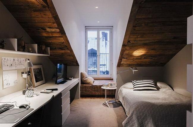 3-令人惊叹的复式公寓室内设计第4张图片