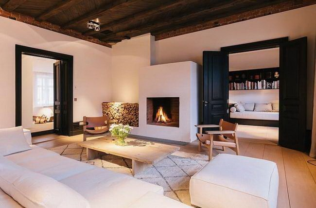 令人惊叹的复式公寓室内设计第9张图片
