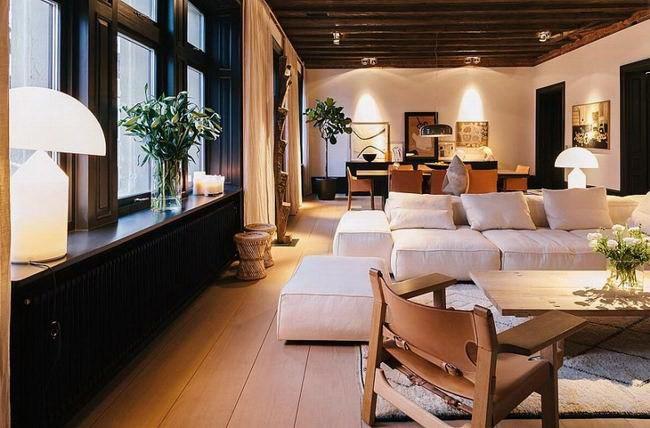 令人惊叹的复式公寓室内设计第11张图片