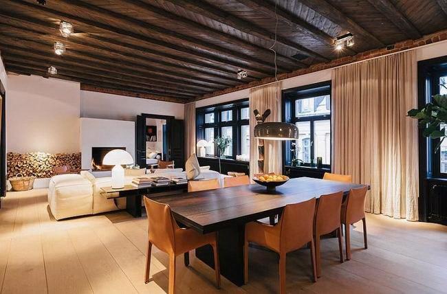 令人惊叹的复式公寓室内设计第12张图片