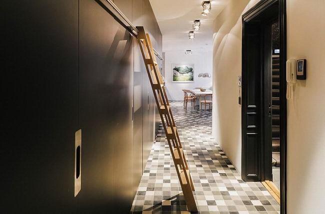 令人惊叹的复式公寓室内设计第16张图片