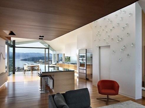 现代时尚的海景住宅室内装修设计