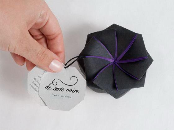 甜蜜像花儿一样,能绽放的巧克力包装第1张图片