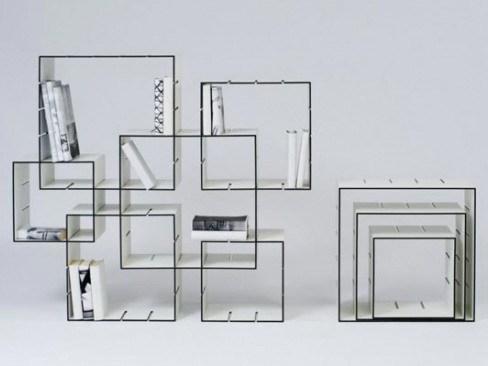模块化设计的可组装储物柜