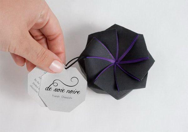 甜蜜像花儿一样,能绽放的巧克力包装第2张图片